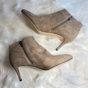 Via Spiga Ankle zip up bootie (with flaws)